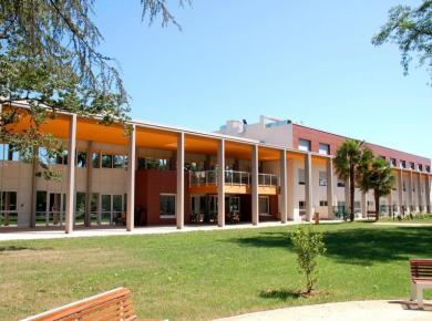 L'Hôpital de au jardin d'antan